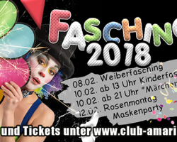 Fasching im Club Amarillo